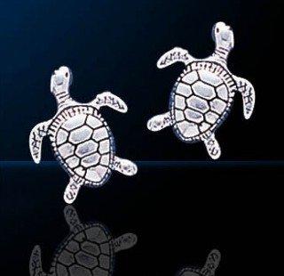 sterling silver sea turtle jewelry